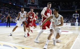 Karjeros mačą sužaidęs A.Gudaitis - tarp naudingiausių Eurolygos turo žaidėjų