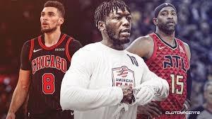 """Triskart NBA dėjimų konkurso nugalėtojas N.Robinsonas sulygino kitus """"Oro karalius"""" - Z.LaVine'ą ir V.Carterį"""