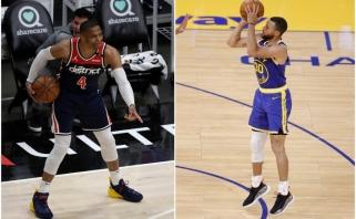"""Paskutinių sekundžių šūviai: Westbrookas pagelbėjo """"Pacers"""", """"Grizzlies"""" Curry paslaugos nesulaukė"""