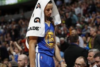"""NBA: fenomenali N.Jokičiaus ir """"Nuggets"""" pergalė prieš """"Warriors"""", """"Celtics"""" mažylis - per žingsnį nuo rekordo"""