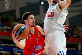 CSKA sumindė Juodkalnijos čempionus