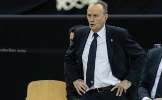 """Paskutinis šiais metais """"Žalgirio"""" mačas Eurolygoje gali neįvykti - COVID-19 nustatytas ALBA treneriui"""