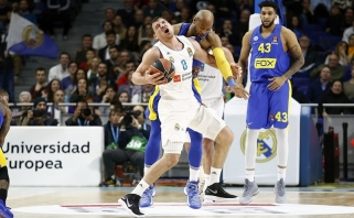 """J.Mačiulis svariai prisidėjo prie pergalės prieš """"Maccabi"""""""