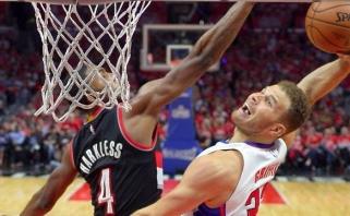 """""""Cavs"""" pakartojo tritaškių rekordą, antrąsias pergales šventė ir """"Heat"""" bei """"Clippers"""""""