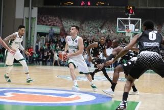 Puikiai kamuolius skirsčiusio A.Juškevičiaus klubas laimėjo pirmąjį ketvirtfinalio mačą