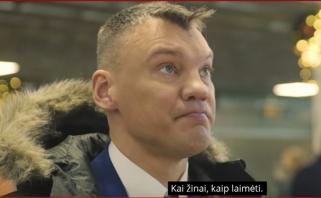 """Š.Jasikevičius tapo """"Skycop"""" reklaminiu veidu"""