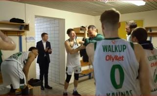 Rūbinėje išmaudytas Eurolygos rekordininkas Jankūnas: čia – kažkoks labai brangus vaikų darželis (5 VIDEO)