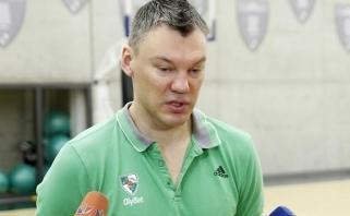 Š.Jasikevičius: padėtis grupėje jau nėra svarbi (E.Ulanovo komentaras)