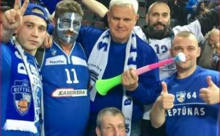 """Klaipėdos mero pažadas: jei """"Neptūnas"""" žais finale, atvyks palaikyti su neįgaliojo vėžimėliu"""