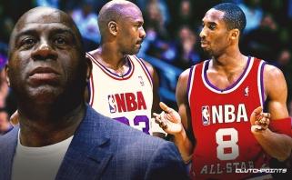 M.Johnsonas: Kobe ir Jordano santykiai primena tuos, kai mes su Birdu 1992 metais perdavėme estafetę MJ