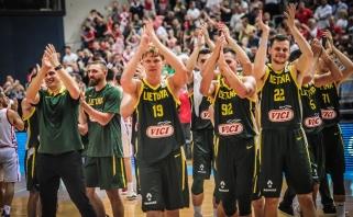 Lietuvos rinktinė išvykoje parklupdė Kroatijos žvaigždyną