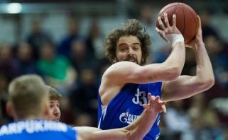 "Beveik visą sezoną nežaidęs K.Landry pratęsė sutartį su ""Zenit"""