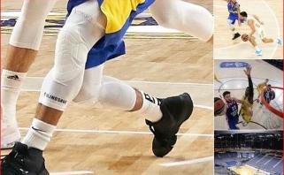 Eurolygos žaidėjai džiūgauja: ant parketo neliks traumas kainavusių lipdukų