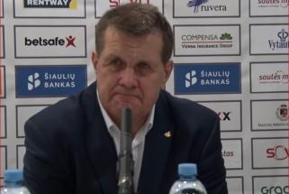"""A.Sireika: apie negražų žaidimą ir """"Šiaulių"""" krepšininkus atskirai"""