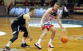 Nuostabiai žaidęs Š.Vasiliauskas atvedė komandą į pergalę Čempionų lygoje