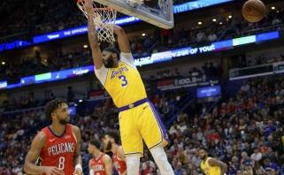 A.Davisas tapo įdomaus NBA rekordo autoriumi