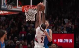 Gimtajame Portlande D.Sabonio atliktas blokas išrinktas gražiausiu NBA nakties epizodu