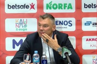 Š.Jasikevičius pasidžiaugė Prienų žalgiriečiais, M.Šernius prabilo apie derybas su P.Valinsku