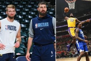 """NBA atidunda: Sabonis ir Valančiūnas sužinojo varžovus, pirmas mačas – """"Lakers"""" su """"Clippers"""""""