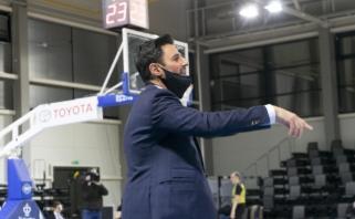 """Naujasis """"Nevėžio"""" strategas: apie darbą su NBA treneriais bei susižavėjimą Jasikevičiumi"""