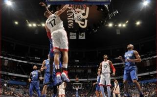 """Nutrūko J.Valančiūno serija, o """"Thunder"""" pergalių seriją nutraukė """"Celtics"""" (rezultatai)"""