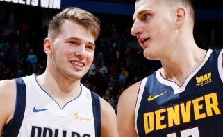 Dončičiaus perdavimas per nugarą bei Jokičiaus skrydis – įspūdingiausi NBA momentai