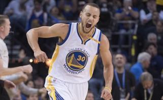 "Saldus revanšo skonis: NBA finalininkų susidūrime ""Warriors"" pažemino ""Cavaliers"""