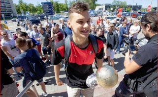 Eurolygos jaunimo čempionu bei MVP tapęs D.Sirvydis: emocijos neapsakomos