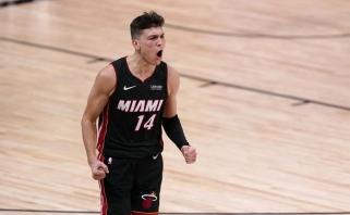 """Rekordą pasiekęs 20-metis nukalė pergalę – """"Heat"""" per žingsnį nuo finalo"""