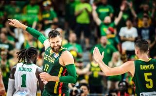 Pasaulio čempionato geriausieji: tarp pirmojo turo žvaigždžių - ir Lietuvos krepšininkai