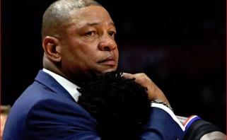D.Riversas: kai juodaodis vilki sportinę formą, jis sportininkas, kai tik nusirengia - tai problema
