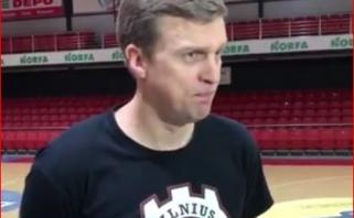 """D.Adomaitis apie """"Partizan"""": tai išskirtiniu kovingumu ir disciplina pasižyminti komanda"""