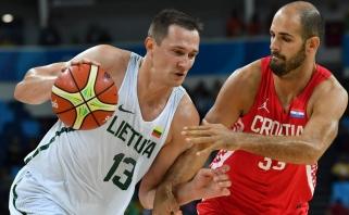 Lietuviai pralaimėjo Kroatijai ir ketvirtfinalyje susitiks su Australija