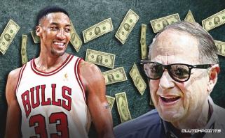 """""""Bulls"""" savininko pasiteisinimas: Pippenas nė už ką nebūtų pasirašęs kontrakto 1998-aisiais"""