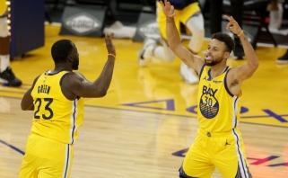Curry užčiaupė kritikus sužaisdamas karjeros mačą, Westbrookas triumfavo prieš Durantą (rezultatai)
