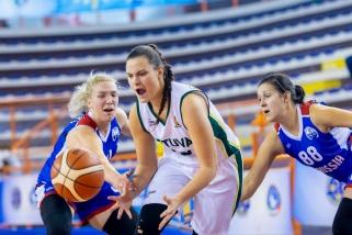 Kurčiosios krepšininkės nusileido rusėms ir kausis dėl Europos bronzos