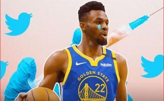 """NBA netaikys vienam """"Warriors"""" lyderių išimties dėl religinių pažiūrų"""