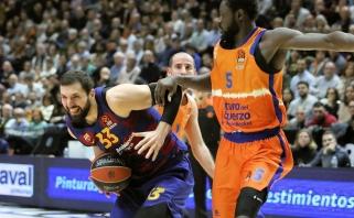 """""""Barceloną"""" Valensijoje ištraukęs N.Mirotičius - Eurolygos turo MVP"""