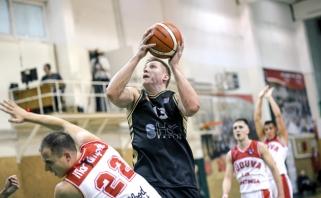 Naudingiausias NKL žaidėjas L.Mikalauskas: apie sprendimą nesikelti į LKL ir kita
