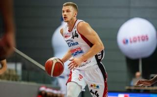 Dambrauskas žaidė rezultatyviausiai Lenkijos pirmenybių mače