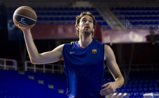 """P.Gasolis ir vėl prabilo apie galimybę žaisti """"Barcelonoje"""""""