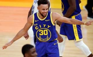 NBA naktis: dešimt Curry tritaškių ir trigubas Butlerio dublis