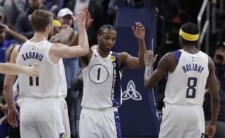 NBA burbule žibėjęs Sabonio komandos draugas dėl traumos iškrito neribotam laikui