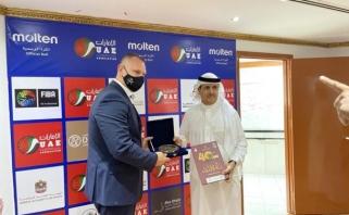 Lietuvos ir Jungtinių Arabų Emiratų krepšinio federacijos užmezgė bendradarbiavimą