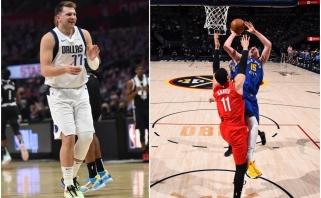 """Dončičius pamokė """"Clippers"""", o Jokičius kapituliavo prieš """"Blazers"""" (rezultatai)"""