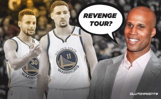 """R.Jeffersonas: Curry ir Thompsonas - geriausias gynėjų tandemas NBA, bet """"Warriors"""" revanšo nebus"""