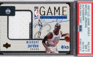 M.Jordano kortelė parduota už kosminę sumą – trigubai viršijo ankstesnį rekordą
