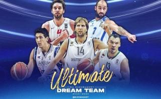 """Š.Jasikevičius - sirgalių išrinktame """"Eurobasket"""" dvidešimtmečio penkete"""