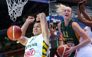 Geriausi 2015 m. Lietuvos krepšininkai - J.Mačiulis ir G.Petronytė