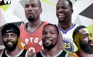 K.Durantas išrinko idealią komandą iš krepšininkų, su kuriais yra kartu žaidęs